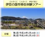 伊豆の国市体験ツアー1月28日ー29日 アイキャッチ